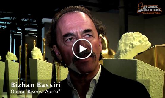 Video realizzato da Arance Meccaniche per la mostra dello scultore-poeta Bizhan Bassiri