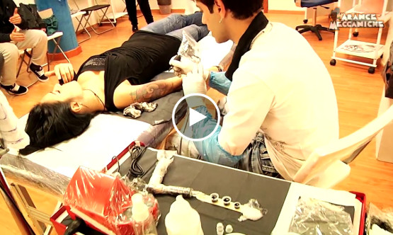 Video aziendale sui tatuaggi realizzato da Arance Meccaniche